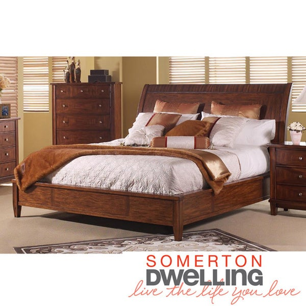 Somerton Dwelling Runway California King Sleigh Bed