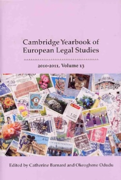 The Cambridge Yearbook of European Legal Studies 2010-2011 (Hardcover)