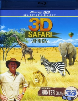 3D Safari Africa (Blu-ray Disc)