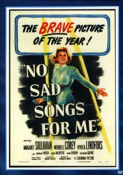No Sad Songs for Me (DVD)