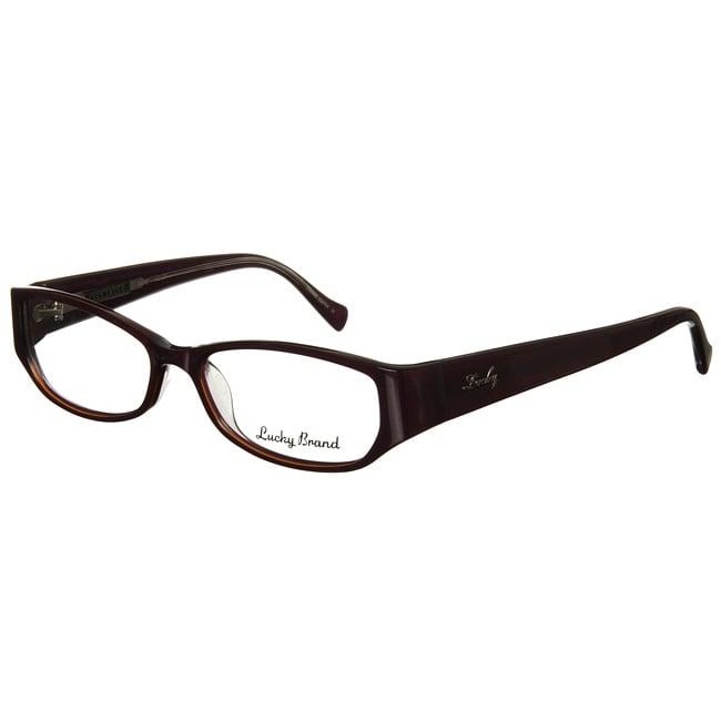 Lucky Brand Sadie Womens Violet Eyeglasses