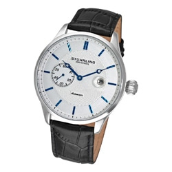 Stuhrling Original Men's Heritage Classic Automatic Date Watch