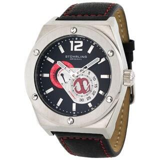 Stuhrling Original Men's Esprit Automatic 24-hour Indicator Watch