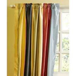 Opaline 96-inch Dupioni Silk Curtain Panel