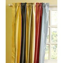 Opaline 96-inch Dupioni Silk Curtain Panel
