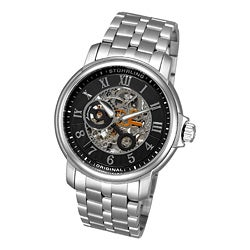 Stuhrling Original Men's King Lear Automatic Skeleton Watch