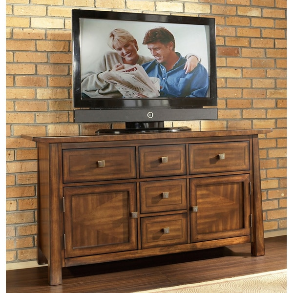Dakota Rich Brown Entertainment Console