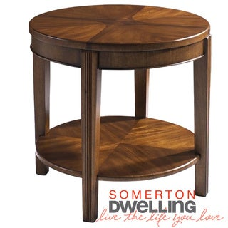 Somerton Dwelling Wood Blend End Table