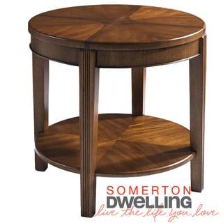 Somerton Dwelling Wood Blend End Table