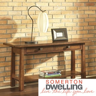 Dakota Rich Brown Sofa Table
