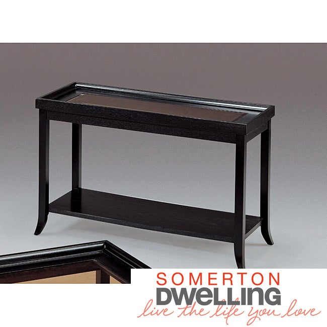 Somerton Dwelling Boulevard Soft Black Sofa Table at Sears.com