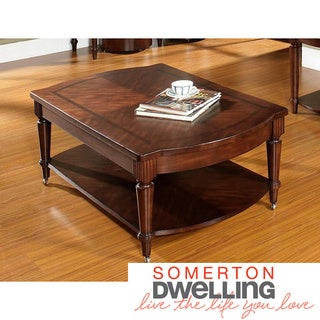 Somerton Dwelling Morgan Castered Cocktail Table