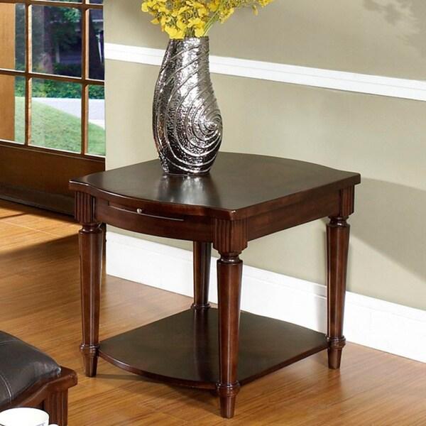 Somerton Dwelling Morgan Rectangular End Table