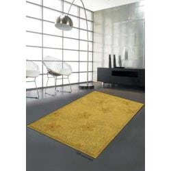 Hand-tufted Metro Lemon Wool Rug (8' x 10'6)