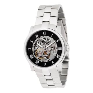 Kenneth Cole New York Men's Automatic Gunmetal Ion-plated Watch