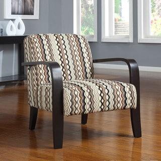 Metro Carousel Graphite Bent Arm Chair
