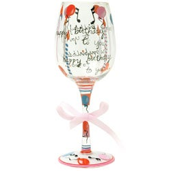 American Atelier Delish Happy Birthday Goblet