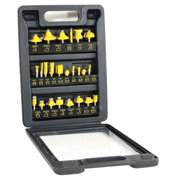 Buffalo Tools Router Bit Set