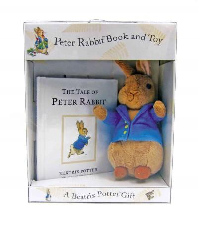 Peter Rabbit Book And Toy