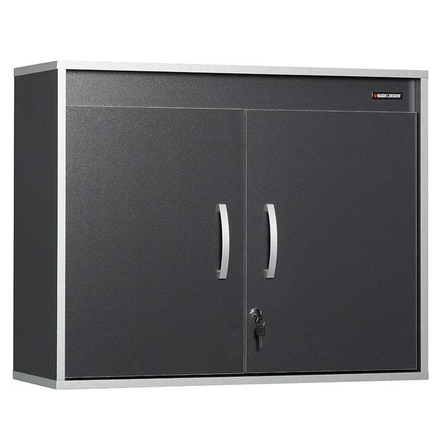 Black & Decker Laminated Garage and Workshop Wall Cabinet