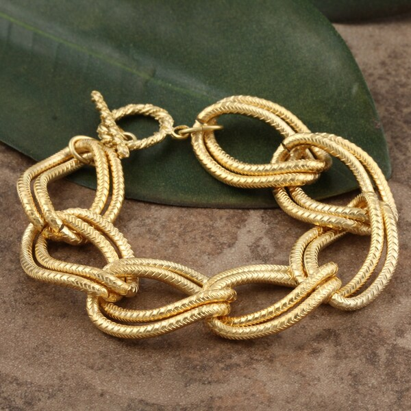 Goldplated Chain Bracelet