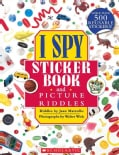 I Spy Sticker Book and Picture Riddles (Paperback)