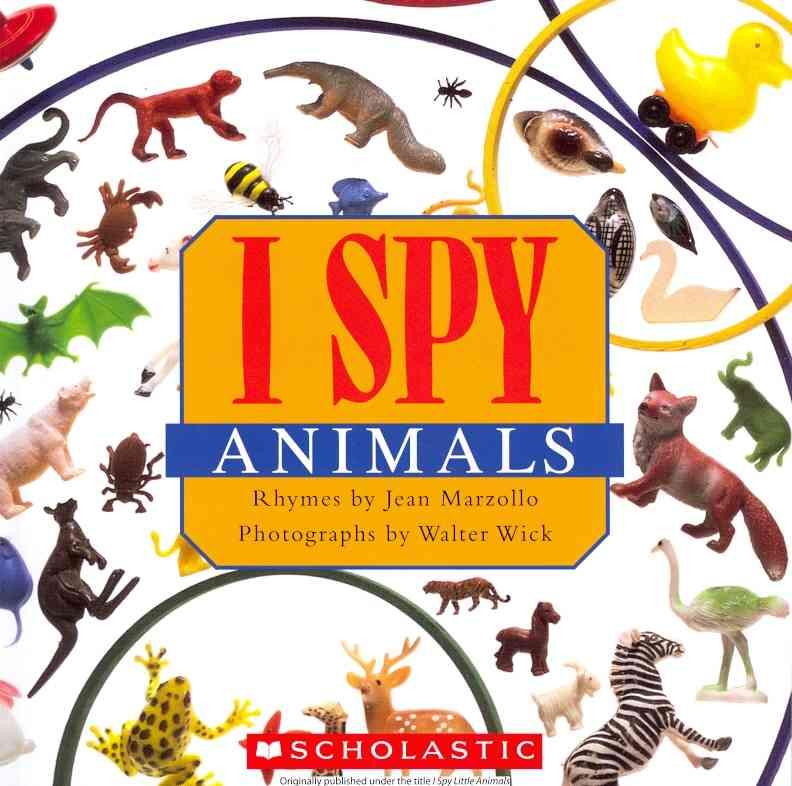 I Spy Animals (Paperback)