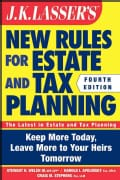 J. K. Lasser's New Rules for Estate and Tax Planning (Paperback)