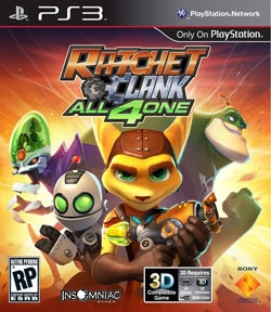 PS3 - Ratchet & Clank: All 4 One - PlayStation 3 - By Sony Computer Entertainment