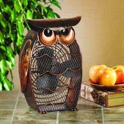 Deco Breeze DBF0365 Owl Figurine Fan