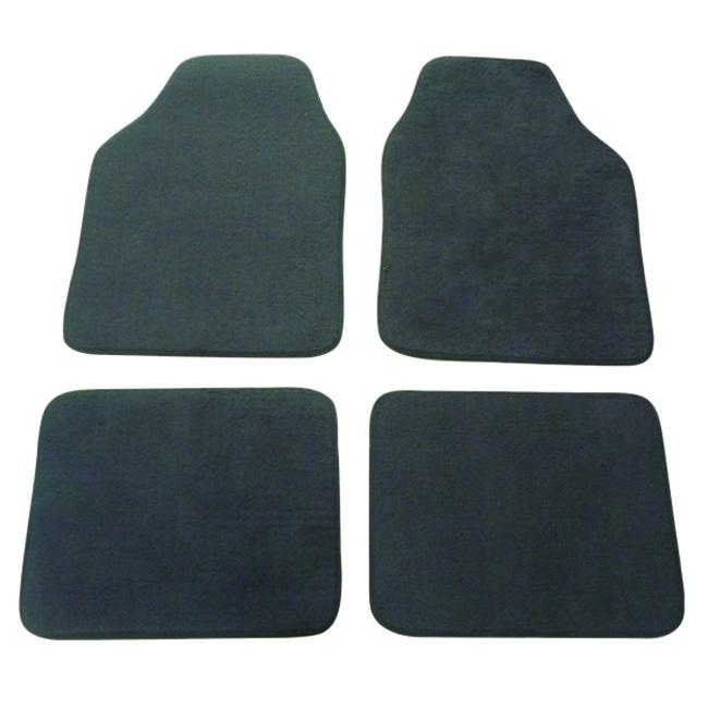 Grey Automotive 4-piece Carpet Floor Mat Set