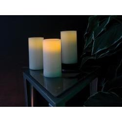 Flicker LED Wax 3-piece Candle Set