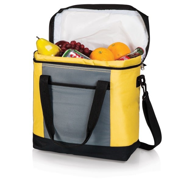 Montero Yellow Insulated Shoulder Food Totes (Set of 2)