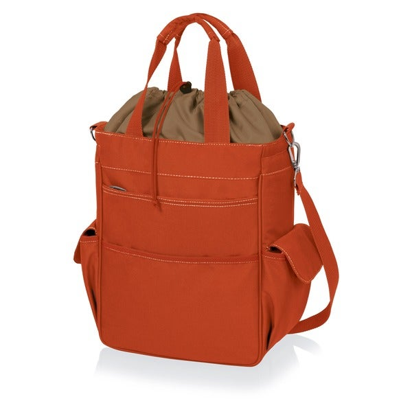 Activo Orange Water-resistant Food Totes (Set of 2)