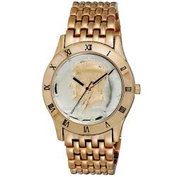 August Steiner Men's Kennedy Half Dollar Rose Watch