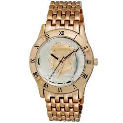 August Steiner Men's Kennedy Half Dollar Rose Watch