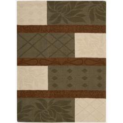 Nourison Hand-tufted Panache Multicolor Rug (8' x 11')