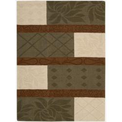 Nourison Hand-tufted Panache Multicolor Rug (5'6 x 7'5)