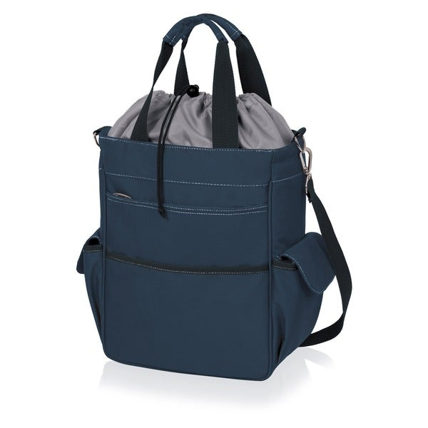 Activo Navy Insulated Multi-pocket Tote Bags (Set of 2)