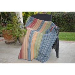 Katy Multicolored Quilted Throw
