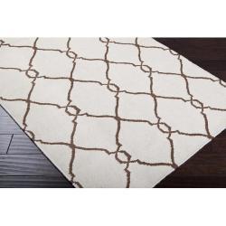 Hand-woven Rutledge Wool Rug (8' x 11')
