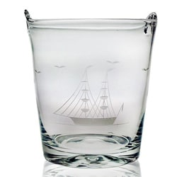 Clipper Ship Handcut 8-inch Ice Bucket