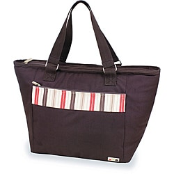 Picnic Time Topanga Brown Large Insulated Shoulder Tote (Set of 2)