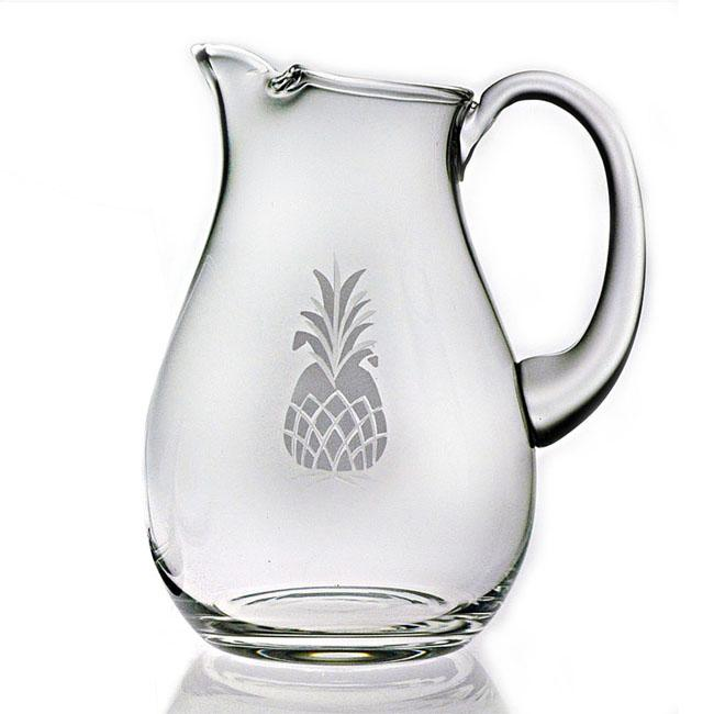 Pineapple Handcut Classic 64-ounce Round Pitcher