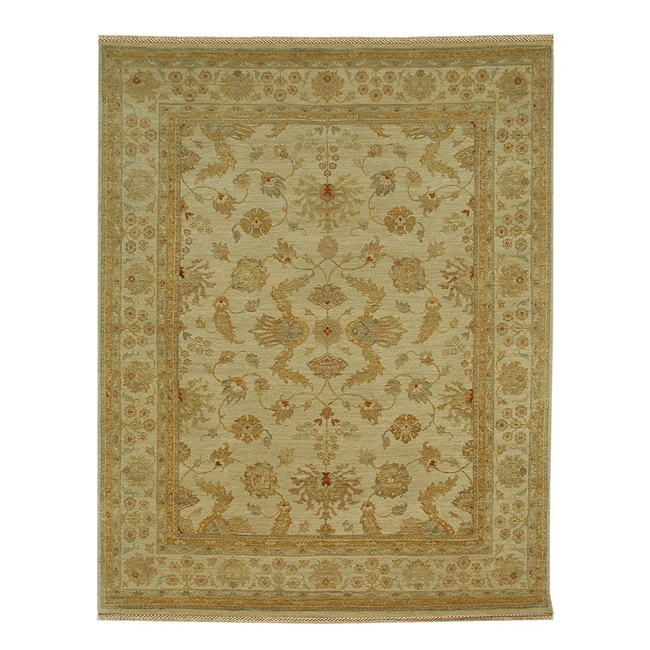 Amatius Hand-knotted Wool (6' x 9')