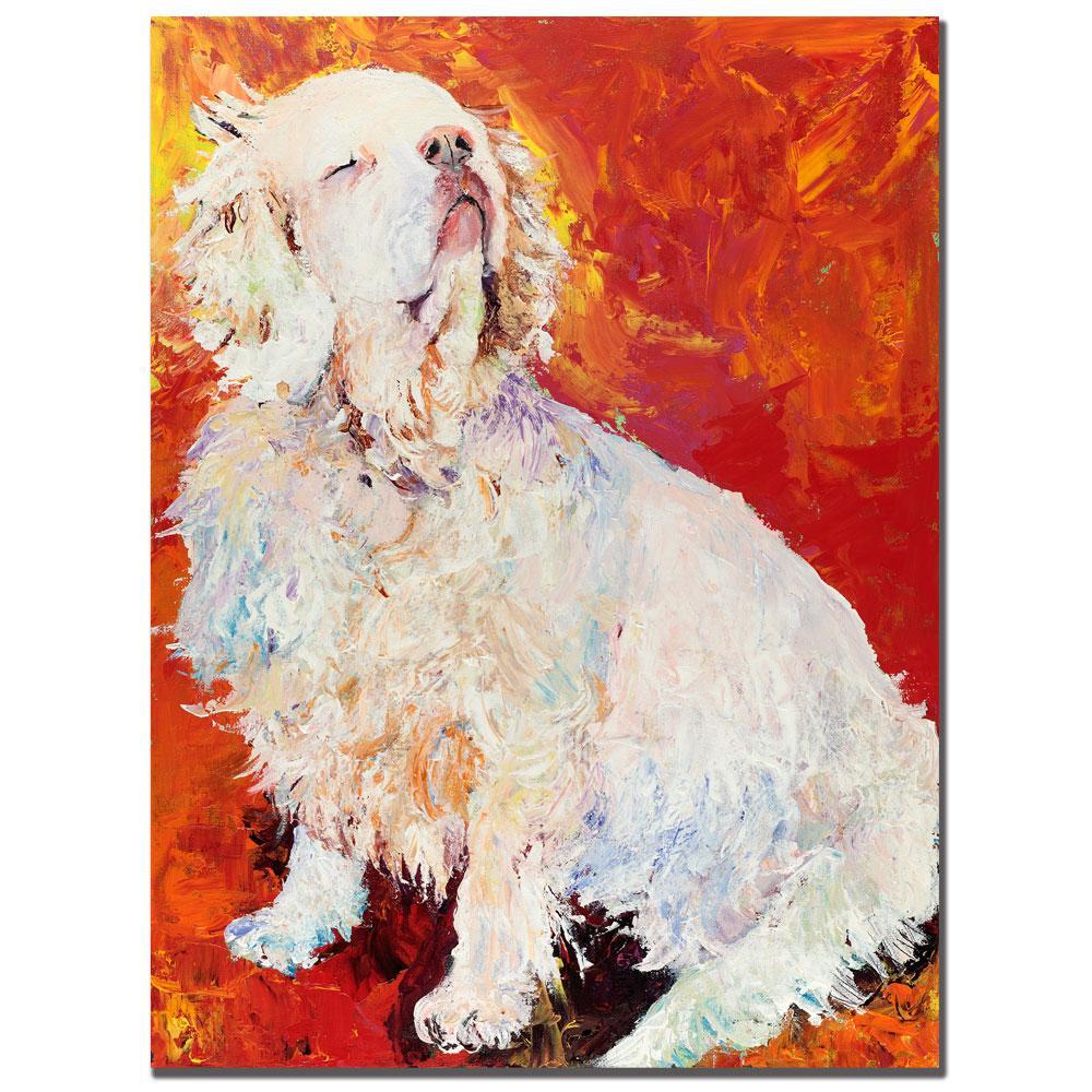 Pat Saunders-White 'I Refuse' Canvas Art
