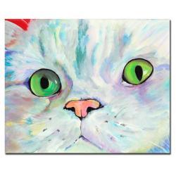 Pat Saunders-White 'Sweet Puss' Canvas Art