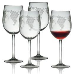 Sonoma Handcut Wine Glasses (Set of 4)