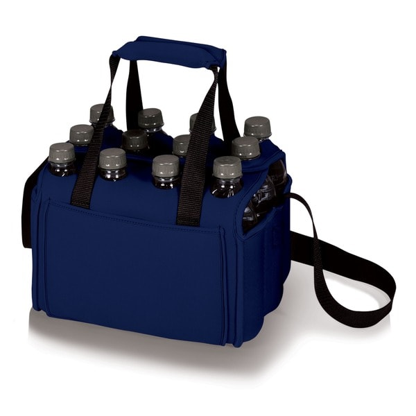 Navy Insulated 12-beverage Neoprene Tote