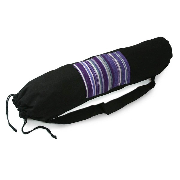 Cotton 'Antigua Enchantment' Yoga Mat Bag (Guatemala)